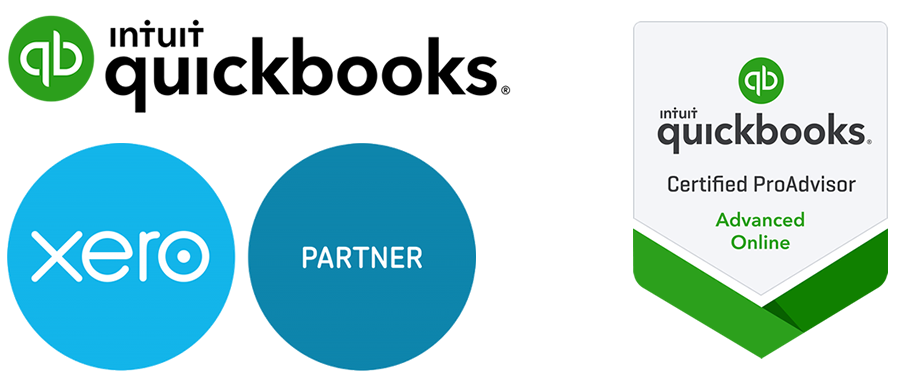 Quickbooks and partners logos